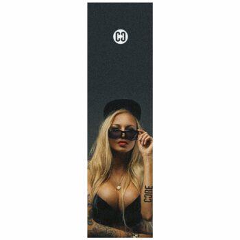 """CORE Skateboard Griptape 9x33"""" - Hot Girl"""