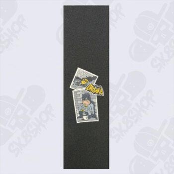 "Droshky Old Superhero Series - Skateboard Griptape - ""Batman"" - 9"" x 33"""