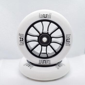 Limit LMT01 Pro Scooter Wheels - White/Black 110mm