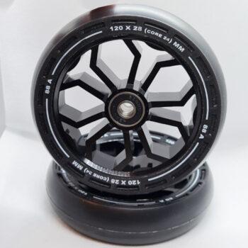 Limit LMT36 Pro Scooter Wheels - Black120mm