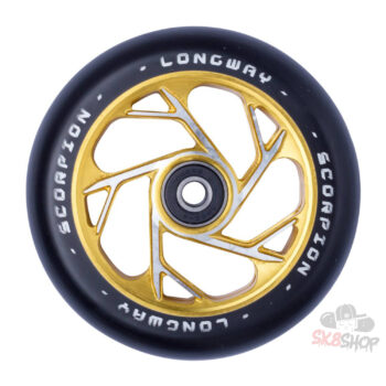 Longway Scorpion Pro Scooter Wheel (110mm, Gold)