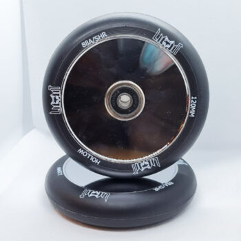 """Limit LMT20 Pro Scooter Wheels - """"Hollow Core"""" Mirror Disk - 120mm"""