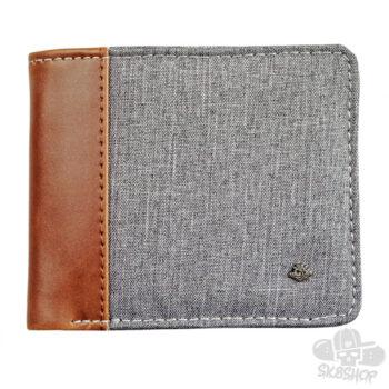 Tough Planet Wallet - Gray/Brown