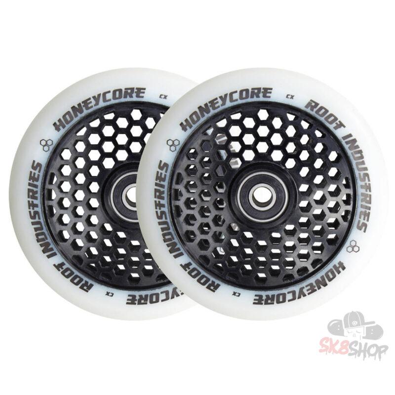 Root Honeycore Wheels 110mm | White / Black
