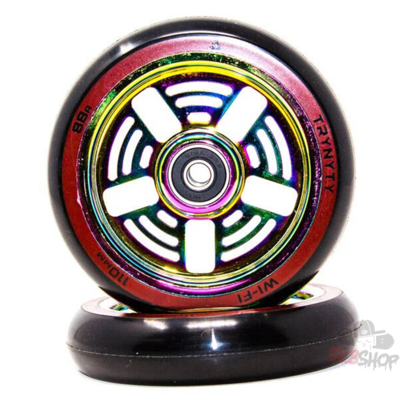 Trynyty Wi-Fi Pro Scooter Wheels 2-Pack (110mm, Oil Slick)