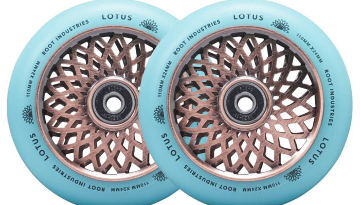 Root Industries – Lotus Wheels 110mm   Isotope/Coppertone