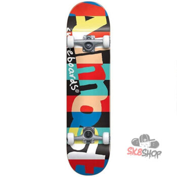 ALMOST RUGBY RESIN PREMIUM (7.375)  COMPLETE SKATEBOARD - YOUTH
