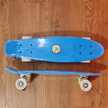 Saltrock -Retro Mini Cruiser Skateboard - Pink