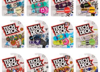 Tech Deck Fingerboards – Drop M23 (Random)