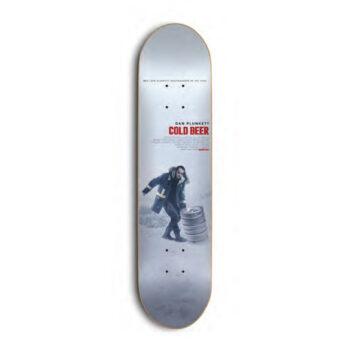 Skate Mental Plunkett Beer Skateboard Deck -  8.625