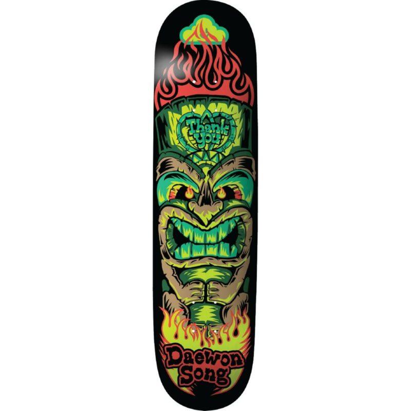 """Thank You Daewon Tiki Skateboard Deck 8.5"""""""