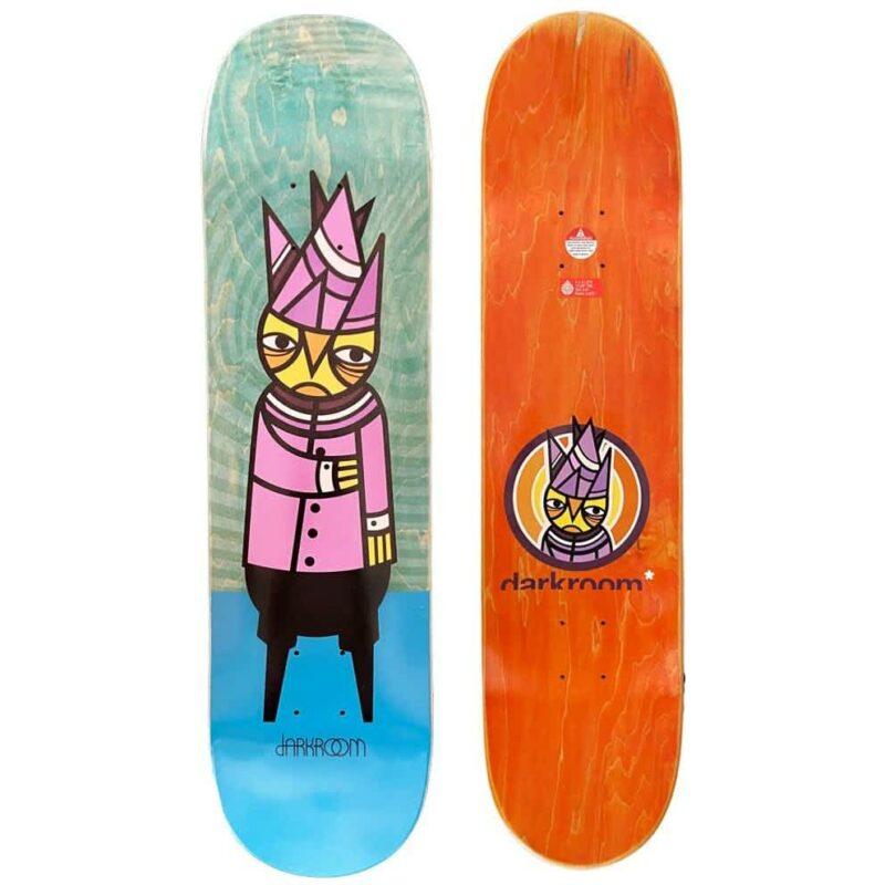 "Darkroom Paranoid Skateboard Deck - 8"""